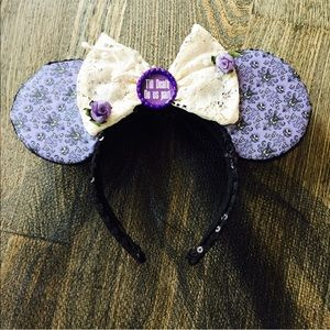 Accessories - Disney Haunted Manison Bridal Mouse Ears bride